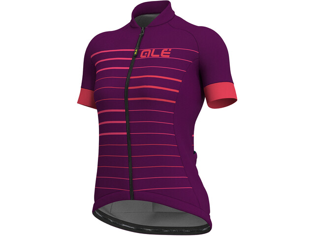 Alé Cycling Solid Ergo Bike Jersey Shortsleeve Women purple at  Bikester.co.uk 941e58107